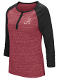 "Alabama Crimson Tide NCAA Women's ""Slopestyle"" 3/4 Sleeve Henley Shirt"