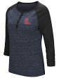 "Mississippi Ole Miss Rebels NCAA Women's ""Slopestyle"" 3/4 Sleeve Henley Shirt"