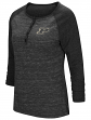 "Purdue Boilermakers NCAA Women's ""Slopestyle"" 3/4 Sleeve Henley Shirt"