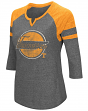 "Tennessee Volunteers NCAA Women's ""Par"" 3/4 Sleeve Tri-Blend Notch Neck Shirt"
