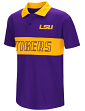 "LSU Tigers NCAA ""Setter"" Youth Performance Polo Shirt"