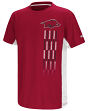 "Arkansas Razorbacks NCAA ""Power Set"" Youth Short Sleeve Performance T-Shirt"