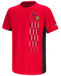 "Louisville Cardinals NCAA ""Power Set"" Youth Short Sleeve Performance T-Shirt"