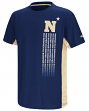 "Navy Midshipmen NCAA ""Power Set"" Youth Short Sleeve Performance T-Shirt"