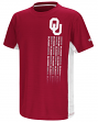 "Oklahoma Sooners NCAA ""Power Set"" Youth Short Sleeve Performance T-Shirt"