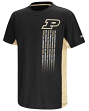 "Purdue Boilermakers NCAA ""Power Set"" Youth Short Sleeve Performance T-Shirt"
