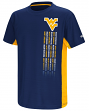West Virginia Mountaineers NCAA Power Set Youth Short Sleeve Performance T-Shirt