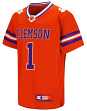"""Clemson Tigers NCAA """"Hail Mary Pass"""" Youth Football Jersey"""