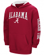 "Alabama Crimson Tide NCAA ""End Zone"" Pullover Hooded Youth Sweatshirt - Red"