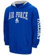 "Air Force Falcons NCAA ""End Zone"" Pullover Hooded Youth Sweatshirt - Blue"