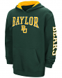 "Baylor Bears NCAA ""End Zone"" Pullover Hooded Youth Sweatshirt - Green"