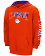 "Clemson Tigers NCAA ""End Zone"" Pullover Hooded Youth Sweatshirt - Orange"