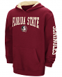 Florida State Seminoles NCAA End Zone Pullover Hooded Youth Sweatshirt - Garnet