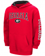 "Georgia Bulldogs NCAA ""End Zone"" Pullover Hooded Youth Sweatshirt - Red"