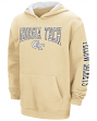 "Georgia Tech Yellowjackets NCAA ""End Zone"" Pullover Hooded Youth Gold Sweatshirt"