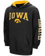 "Iowa Hawkeyes NCAA ""End Zone"" Pullover Hooded Youth Sweatshirt - Black"