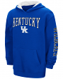 "Kentucky Wildcats NCAA ""End Zone"" Pullover Hooded Youth Sweatshirt - Blue"