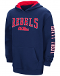 "Mississippi Ole Miss Rebels ""End Zone"" Pullover Hooded Youth Sweatshirt - Navy"