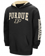 "Purdue Boilermakers NCAA ""End Zone"" Pullover Hooded Youth Sweatshirt - Black"