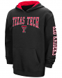 "Texas Tech Red Raiders NCAA ""End Zone"" Pullover Hooded Youth Sweatshirt - Black"