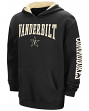 "Vanderbilt Commodores NCAA ""End Zone"" Pullover Hooded Youth Sweatshirt - Black"