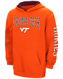 "Virginia Tech Hokies NCAA ""End Zone"" Pullover Hooded Youth Sweatshirt - Maroon"