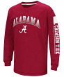 "Alabama Crimson Tide NCAA ""Grandstand"" Long Sleeve Dual Blend Youth T-Shirt"