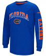 "Florida Gators NCAA ""Grandstand"" Long Sleeve Dual Blend Youth T-Shirt"