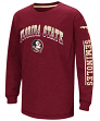 "Florida State Seminoles NCAA ""Grandstand"" Long Sleeve Dual Blend Youth T-Shirt"