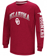 "Oklahoma Sooners NCAA ""Grandstand"" Long Sleeve Dual Blend Youth T-Shirt"