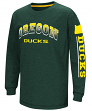 "Oregon Ducks NCAA ""Grandstand"" Long Sleeve Dual Blend Youth T-Shirt"