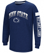 "Penn State Nittany Lions NCAA ""Grandstand"" Long Sleeve Dual Blend Youth T-Shirt"