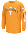 "Tennessee Volunteers NCAA ""Grandstand"" Long Sleeve Dual Blend Youth T-Shirt"