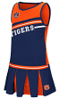 "Auburn Tigers NCAA Toddler ""Curling"" 2 Piece Set Cheerleader Outfit"