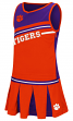 "Clemson Tigers NCAA Toddler ""Curling"" 2 Piece Set Cheerleader Outfit"