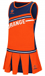 "Syracuse Orange NCAA Toddler ""Curling"" 2 Piece Set Cheerleader Outfit"