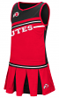 "Utah Utes NCAA Toddler ""Curling"" 2 Piece Set Cheerleader Outfit"