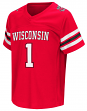 "Wisconsin Badgers NCAA ""Hail Mary Pass"" Toddler Football Jersey"