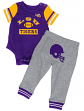 "LSU Tigers NCAA Infant ""Lil' Champ"" Bodysuit & Pant Outfit Set"