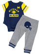 "Michigan Wolverines NCAA Infant ""Lil' Champ"" Bodysuit & Pant Outfit Set"