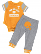 """Tennessee Volunteers NCAA Infant """"Lil' Champ"""" Bodysuit & Pant Outfit Set"""