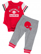 "Wisconsin Badgers NCAA Infant ""Lil' Champ"" Bodysuit & Pant Outfit Set"