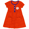 "Clemson Tigers NCAA Infant Girls ""Triple Jump"" Tank Dress w/ Bloomers"