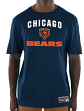 "Chicago Bears Majestic NFL ""Line of Scrimmage 3"" Men's T-Shirt"