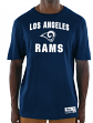 "Los Angeles Rams Majestic NFL ""Line of Scrimmage 3"" Men's T-Shirt"