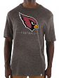 "Arizona Cardinals Majestic NFL ""Hyper Stack"" Men's Premium Slub T-Shirt"