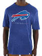 "Buffalo Bills Majestic NFL ""Hyper Stack"" Men's Premium Slub T-Shirt"
