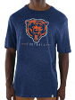 "Chicago Bears Majestic NFL ""Hyper Stack"" Men's Premium Slub T-Shirt"