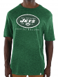 "New York Jets Majestic NFL ""Hyper Stack"" Men's Premium Slub T-Shirt"