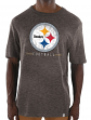 "Pittsburgh Steelers Majestic NFL ""Hyper Stack"" Men's Premium Slub T-Shirt"